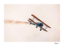 plane flight sky