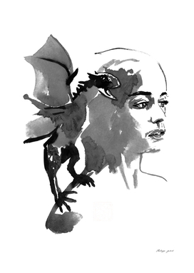 mother and dragon