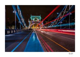 Lighttrails Tower Bridge