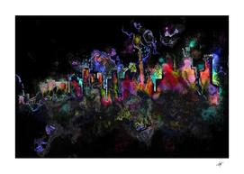 grunge paint splatter splash ink