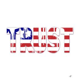 usa us flag trust spray paint