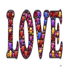 love emoji hearts valentine