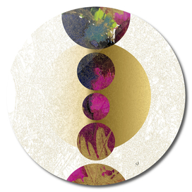 Balanced Galaxy Purple Gold