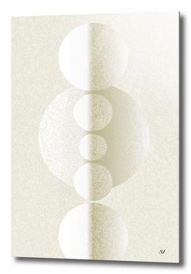 Balanced Galaxy White On White