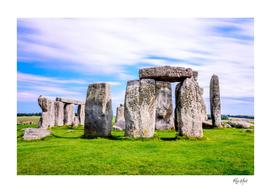Stonehenge, Salisbury, England UK