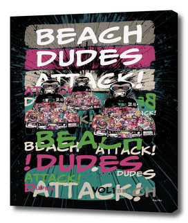 Beach Dudes Attack Volume 1
