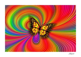 arrangement butterfly