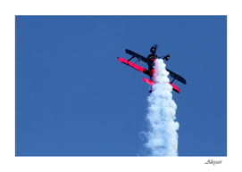 biplane airshow stunt aircraft