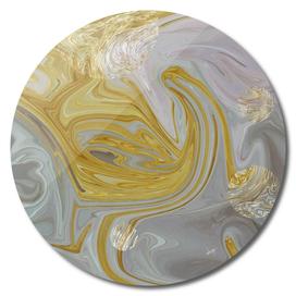Marbled Galaxy Grey Gold