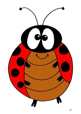 ladybug comic beetle insect spring