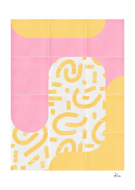 Sunny Doodle Tiles 02