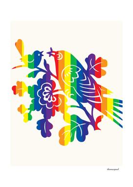 Rainbow Robin
