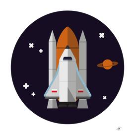 rocket space universe spaceship