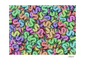 money currency rainbow