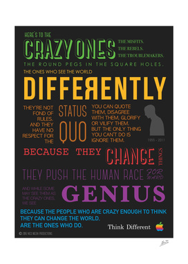 Here Is To The Crazy Ones