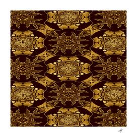 gold black book cover ornate