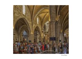 Church Interior in Valencia