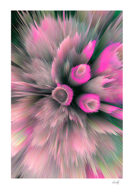 purple gray abstract flower