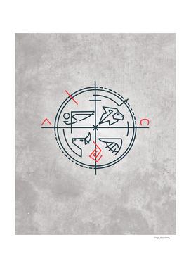 Evangelic Biblic symbols