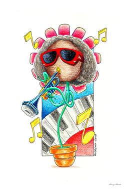 Flower Miles Davis