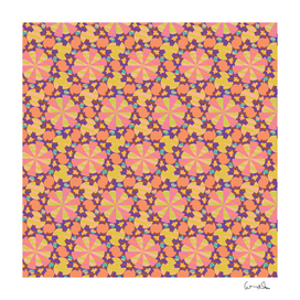 pattern decoration abstract flower