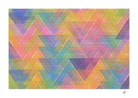 triangle pattern mosaic shape