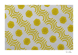 abstract background hexagons