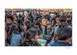 Crowds at Night Market