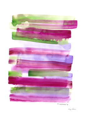 7  | 190603 |Rothko Inspo |Colour Study Watercolor Painting