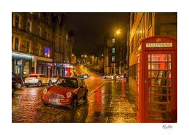 Cowgate street, Edinburgh, Scotland