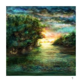 Sunset painting 1