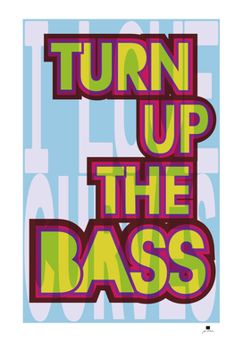 Turn Up The Bass | Retro Eighties