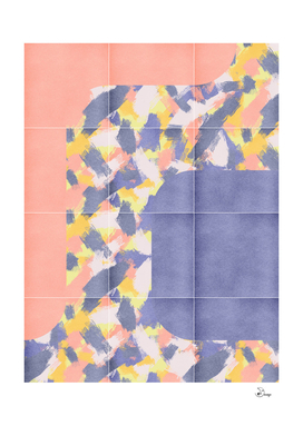 Messy Painted Tiles 01