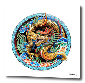 Chinese Dragon Art Mythical