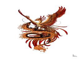 Phoenix vs Dragon Chinese