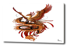 Phoenix vs Dragon Chinese