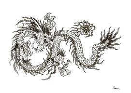 chinese dragon totem