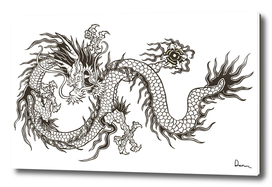 chinese dragon totem