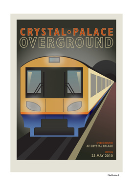 Crystal Palace Overground Train 2010