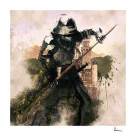 medieval knight armor helmet