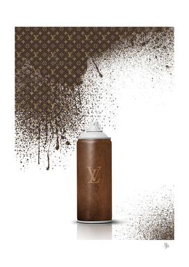 Louis Vuitton Spray Paint