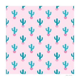 Succulent Cactus Pattern