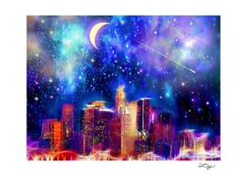 Starry Night Los Angeles
