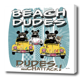 Beach Dudes Vol2 on white background