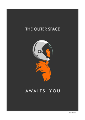 The outer space awaits you