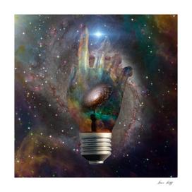 Cosmic Light Bulb