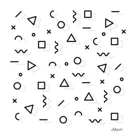 Halftone Pattern Abstract geometric pattern