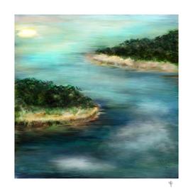 Island painting - S