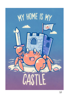 My Home is My Castle - Hermit Crab