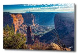Spider Rock, Canyon de Chelly,
